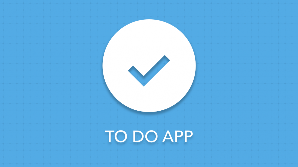 To Do App - student project