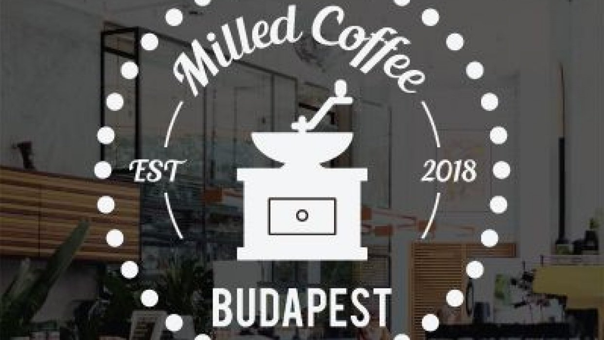 Milled Coffee Budapest - student project