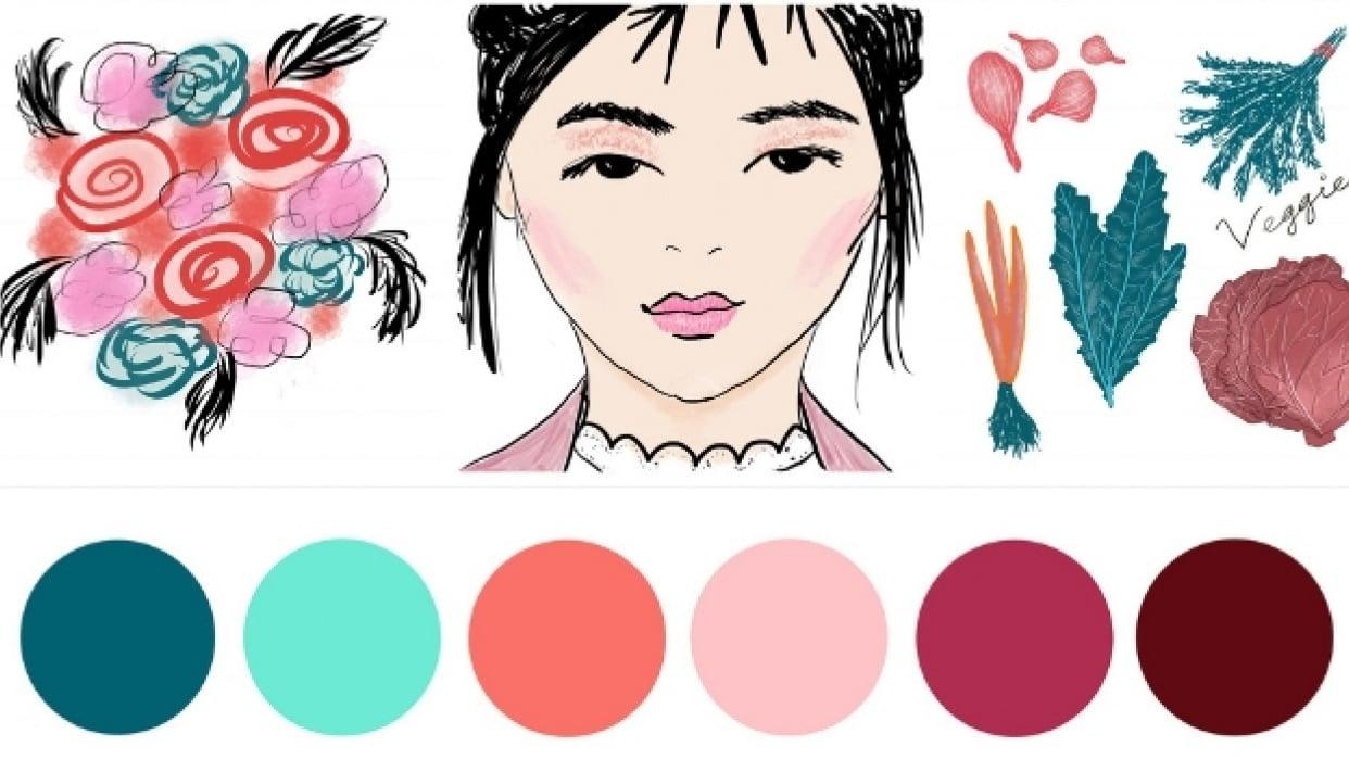 New December Color Palette - student project