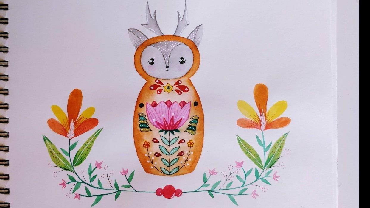 Nesting Doll - Sandra Bowers - student project