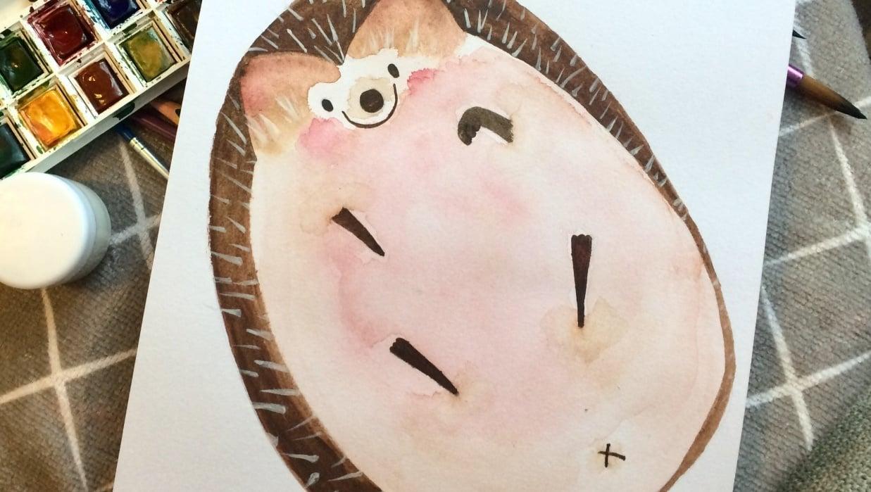 Little Hedgehog - student project