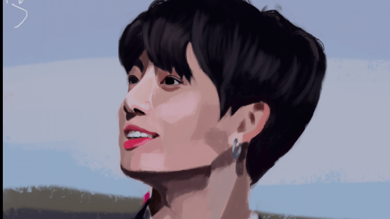 Light exercise - Jeon Jungkook - student project