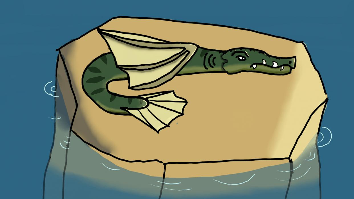 lake dragon - student project