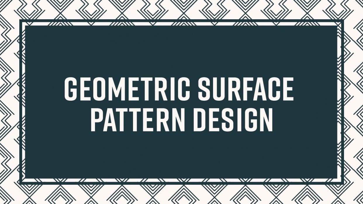 Geometric Pattern Design - student project