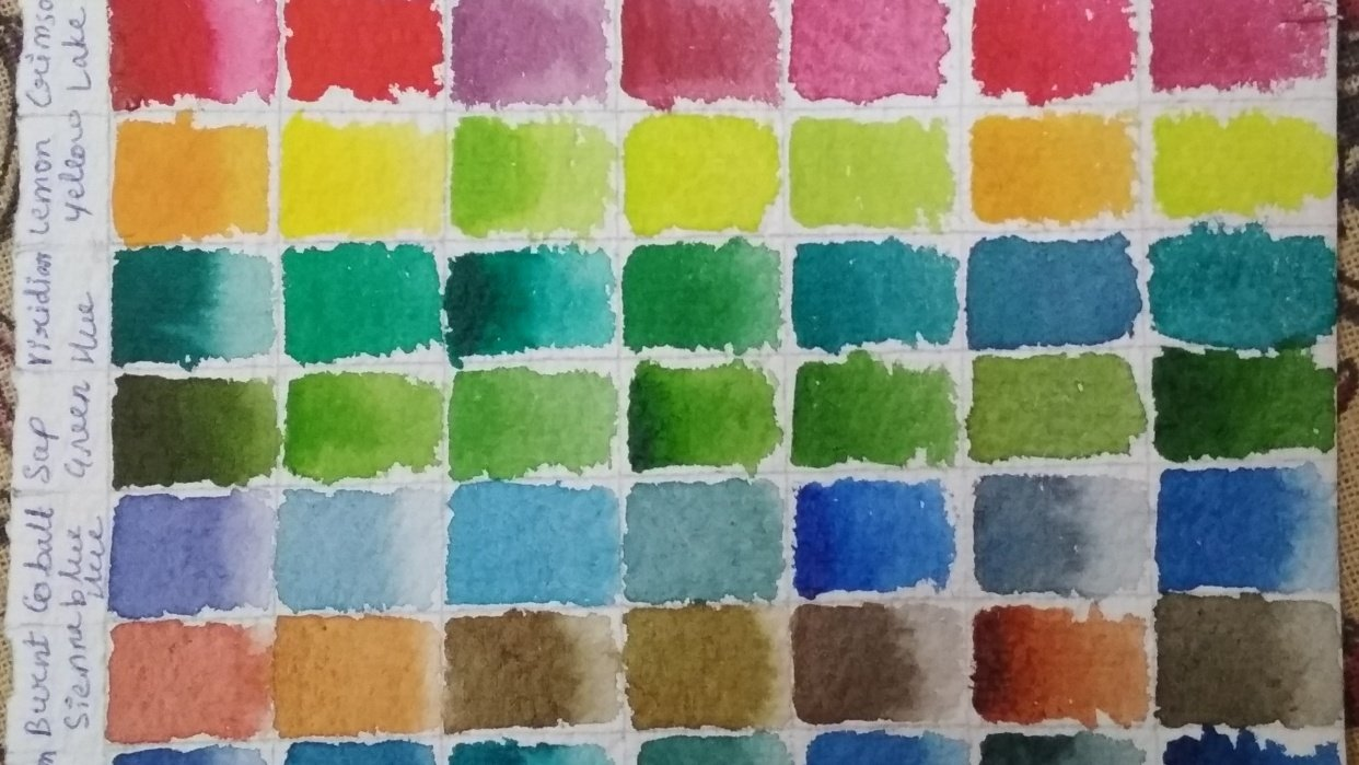 Color Chart - student project