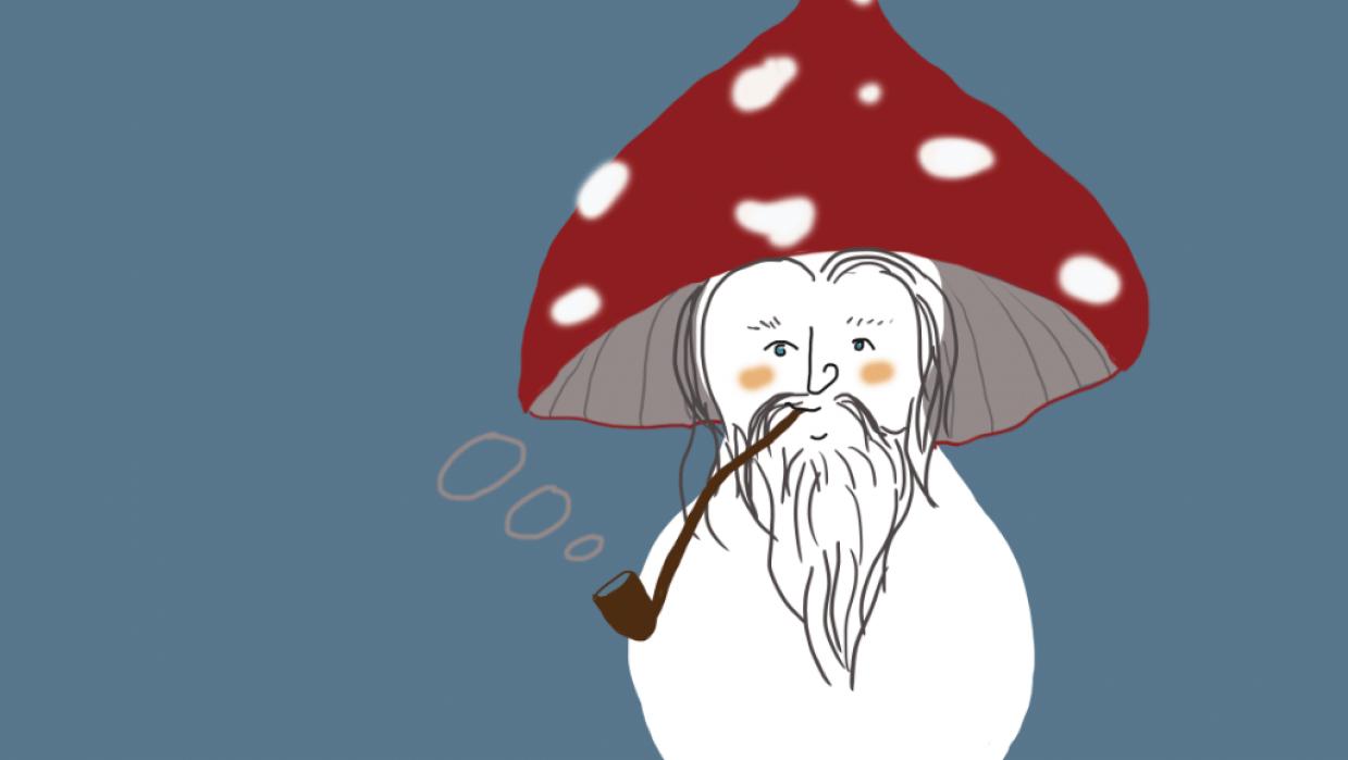 Smoking Gandalf - student project