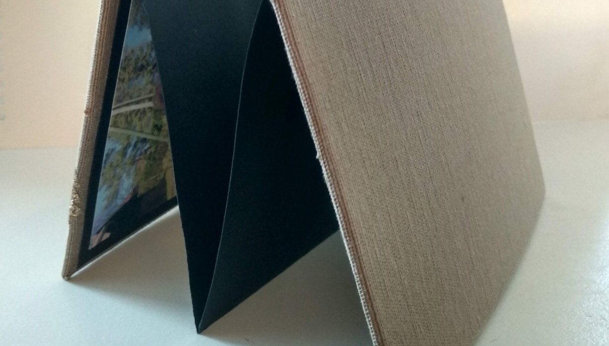 DIY Bookbinding: Accordion Style Lookbook - student project