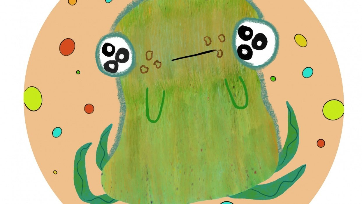 Greenie Monster - student project