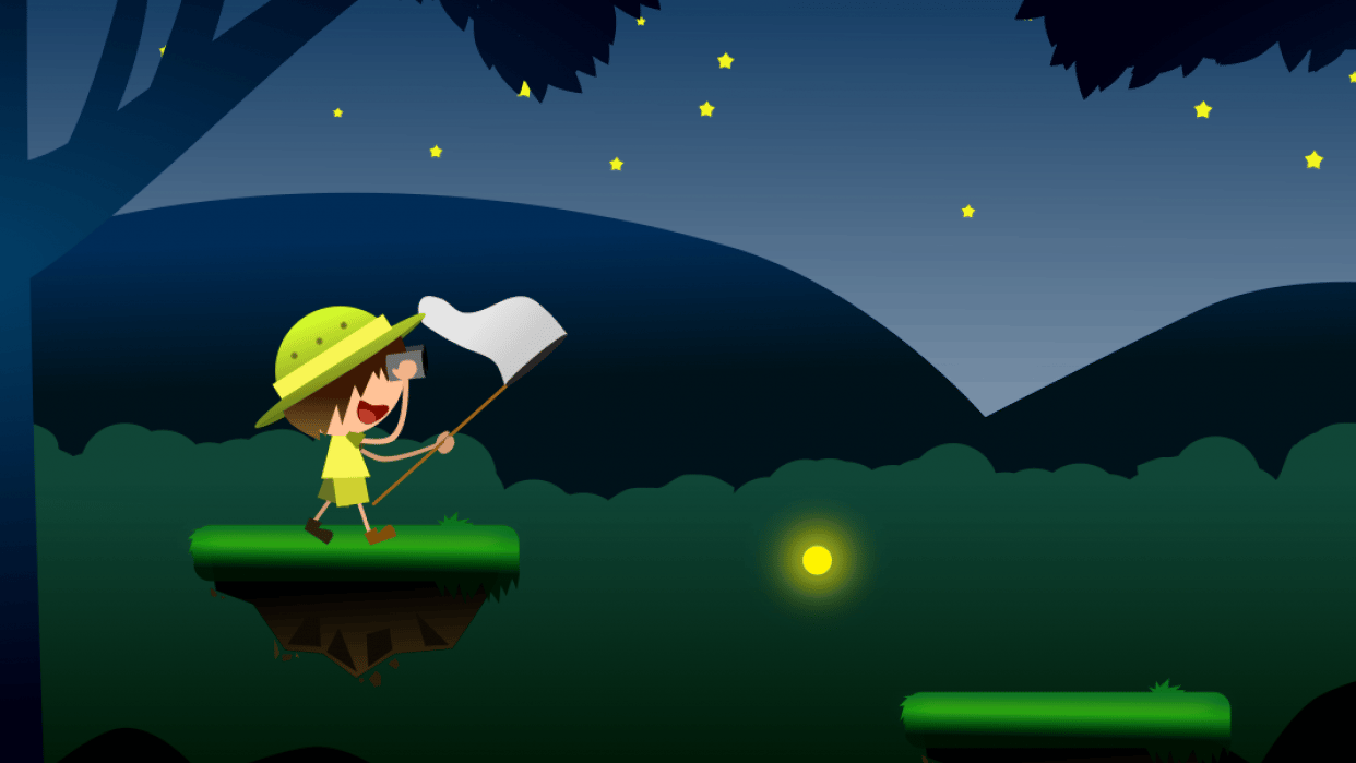 Firefly Catcher - student project