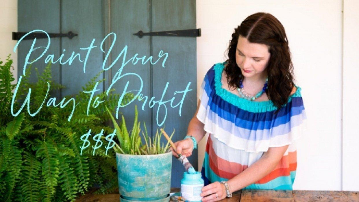 Paint Your Way to Profit-Start a Profitable Furniture Painting Business - student project