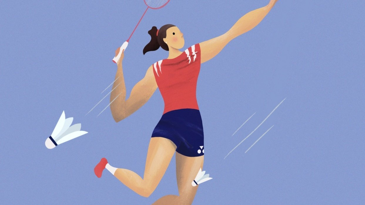 Badminton Smash - student project