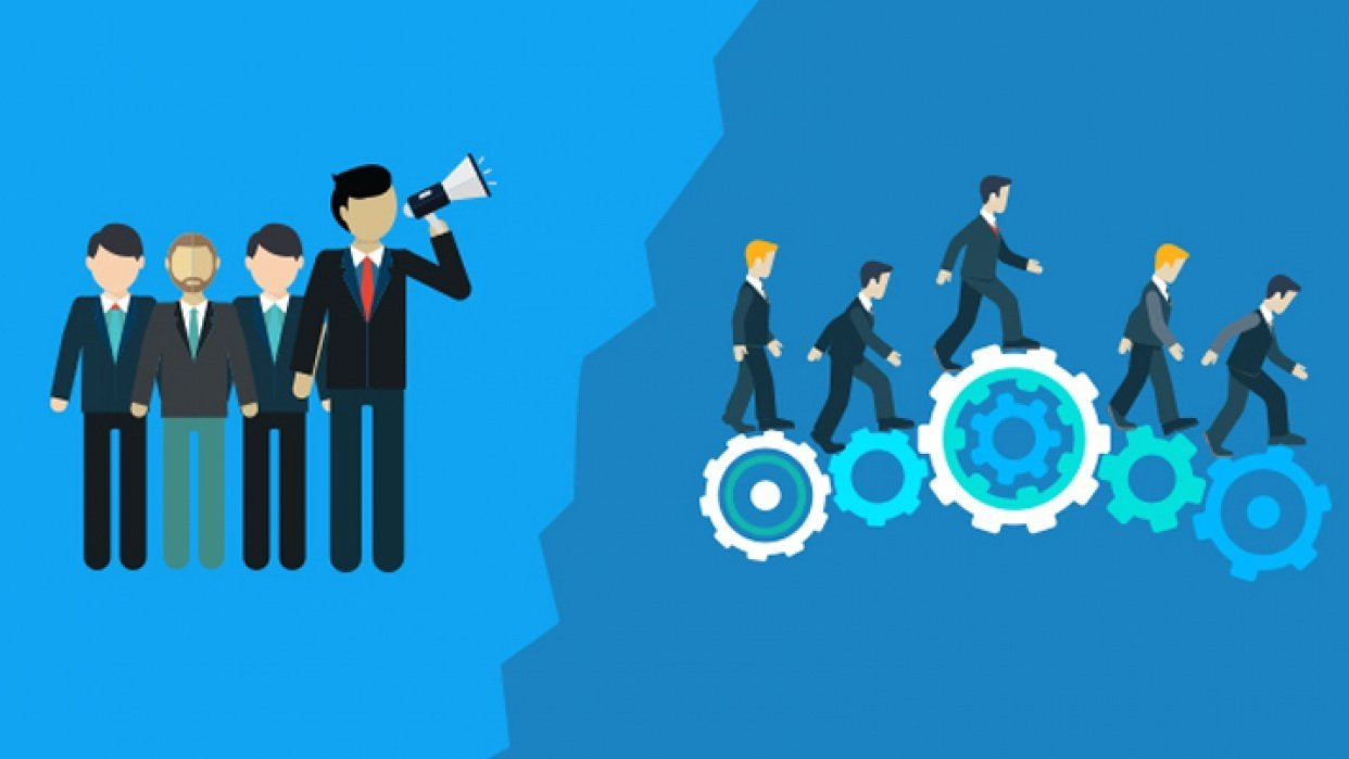 Management & Leadership: Learn the difference and how they interact - student project