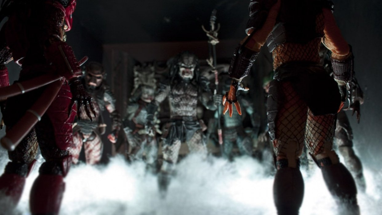 Action Figure Photography - student project