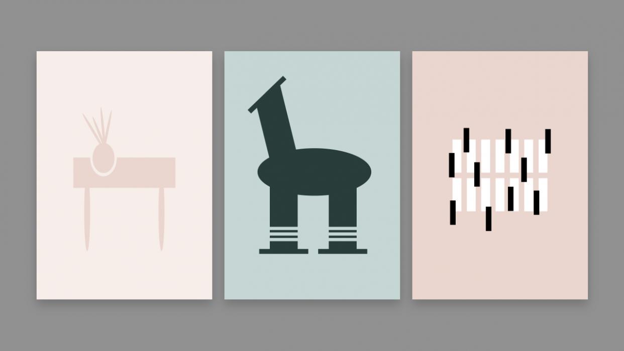 Explorative Design: Basic-shapes - student project