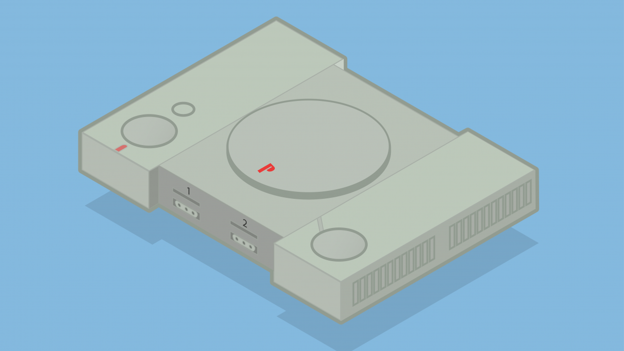 PlayStation 1 - student project