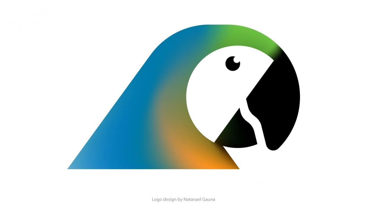 Parrot Logo Design - student project