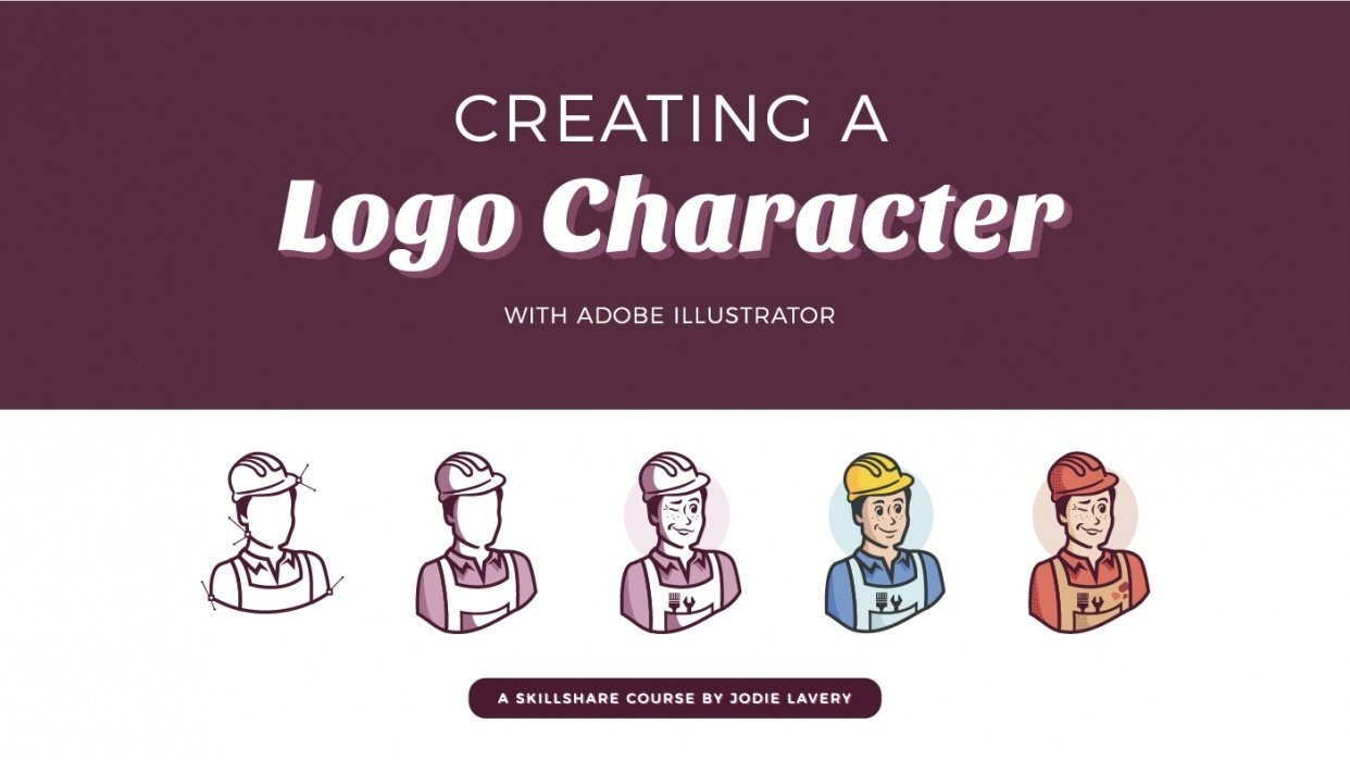 Creating a Logo Character: How to convey a brand through character design - student project
