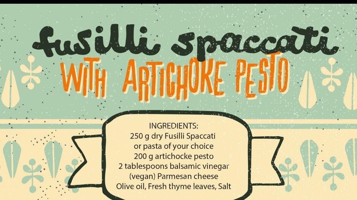 Illustrated italien recipe - student project