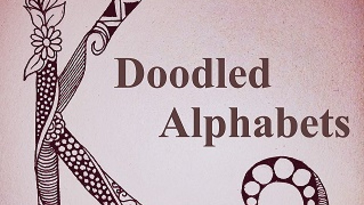 Doodled Alphabets - student project