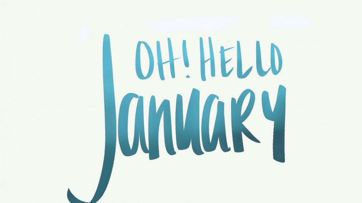 Oh! Hello January - student project