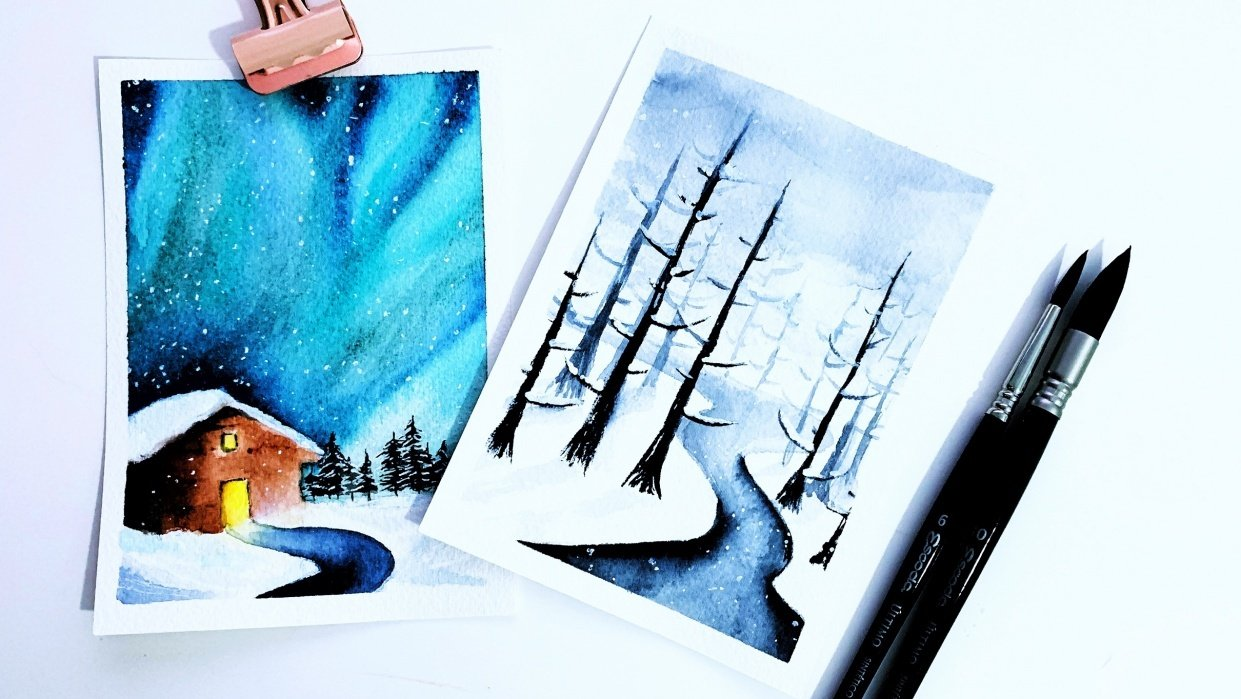 Winter Wonderland by flo.diaries - student project
