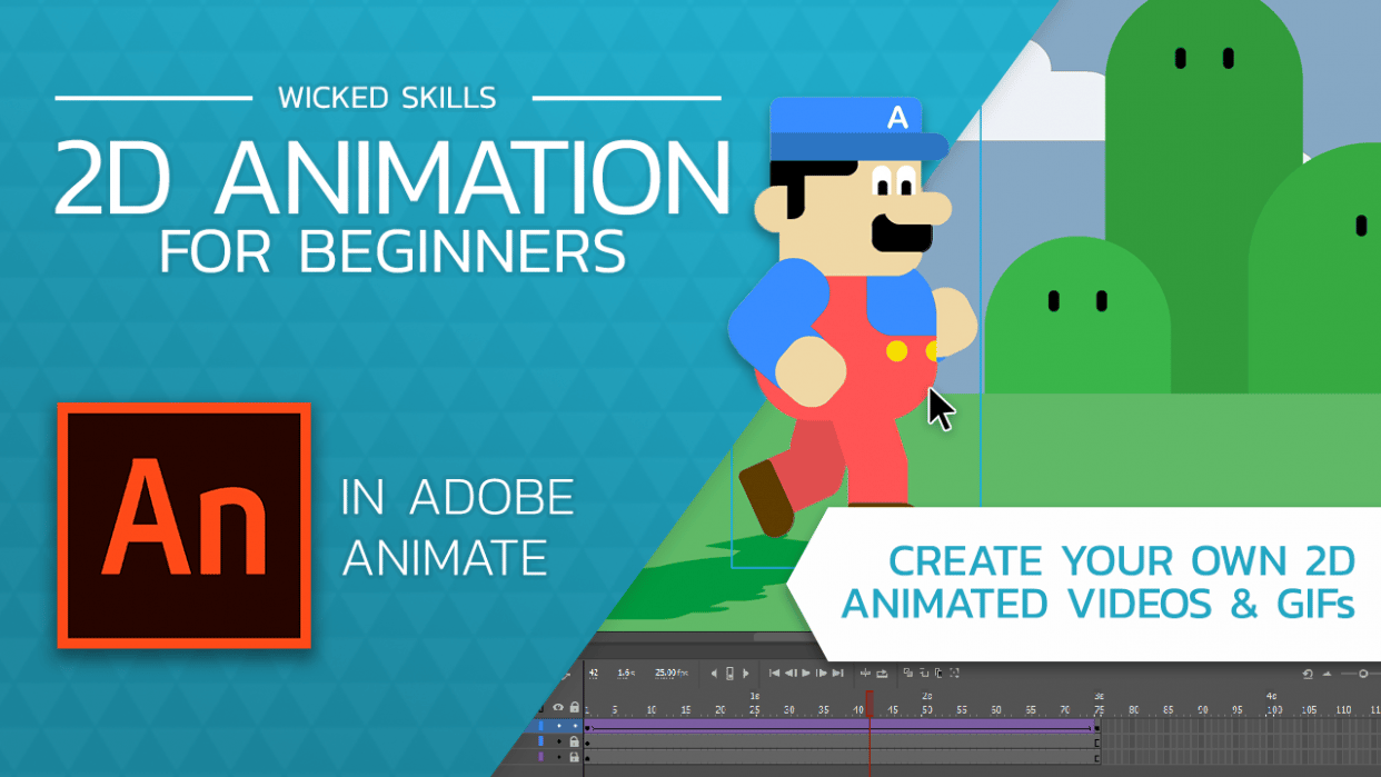 2D Animation for beginners with Adobe Animate - student project