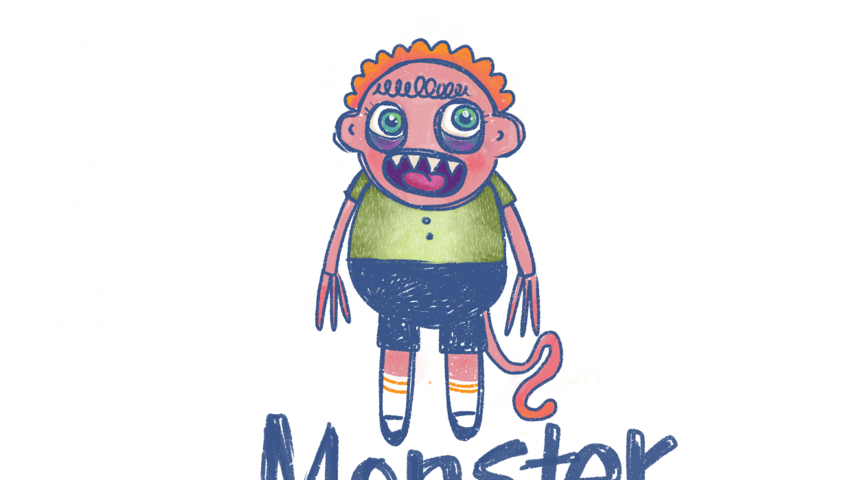 My monster - student project