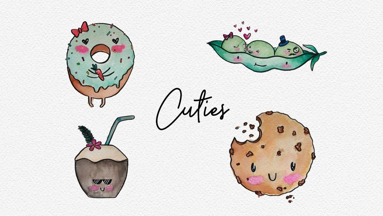 Cutie Collection - student project