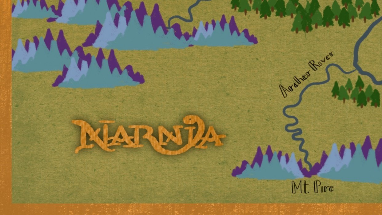 Narnia Map - student project