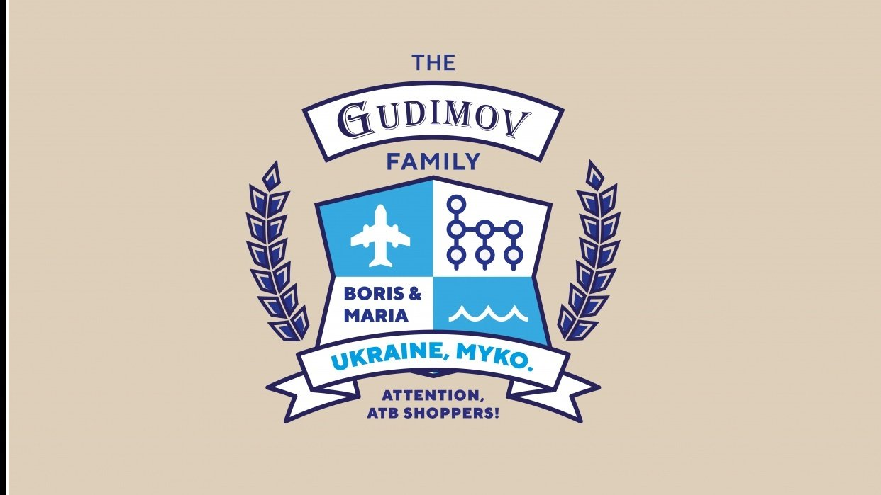 The Gudimov family crest - student project