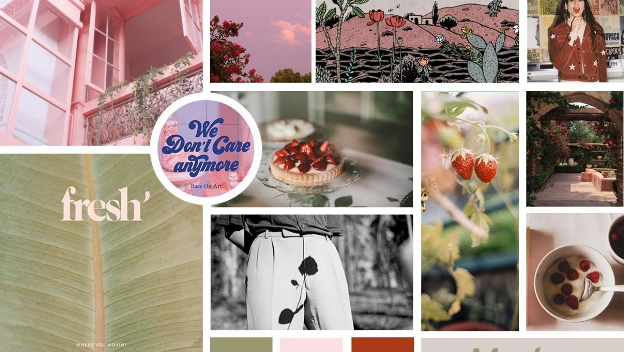 Sunday Afternoon Moodboard - student project
