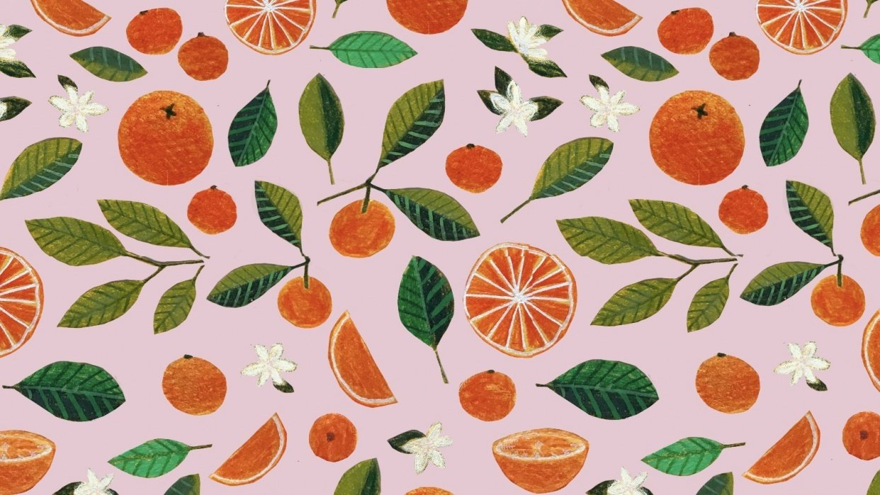 Fruit patterns - student project