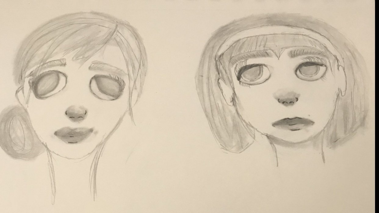 Drawing Portrait Beginner - student project