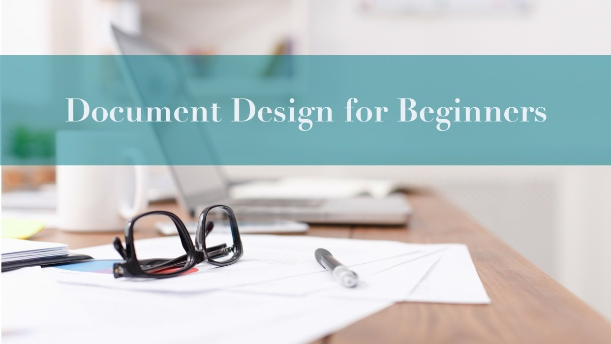 Document Design for Beginners - student project