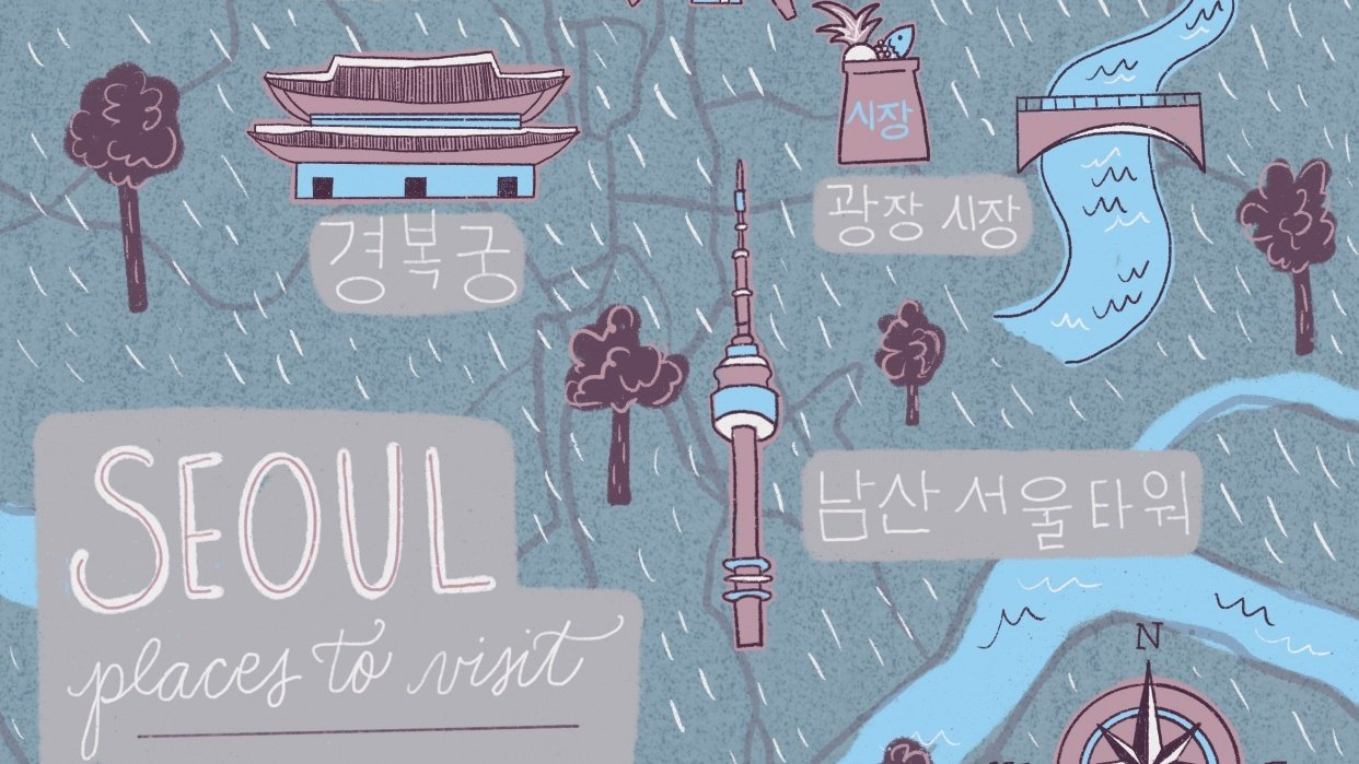 Places to visit in Seoul - student project