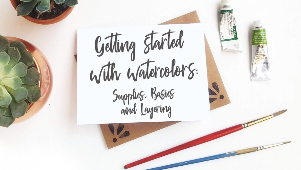 Getting Started with Watercolors: Supplies, Basics and Layering - student project