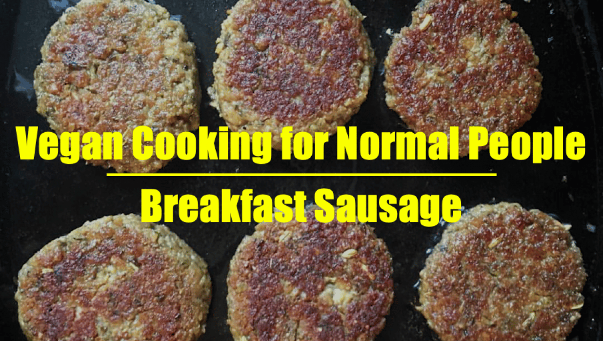 Vegan Cooking for Normal People: Breakfast Sausage - student project