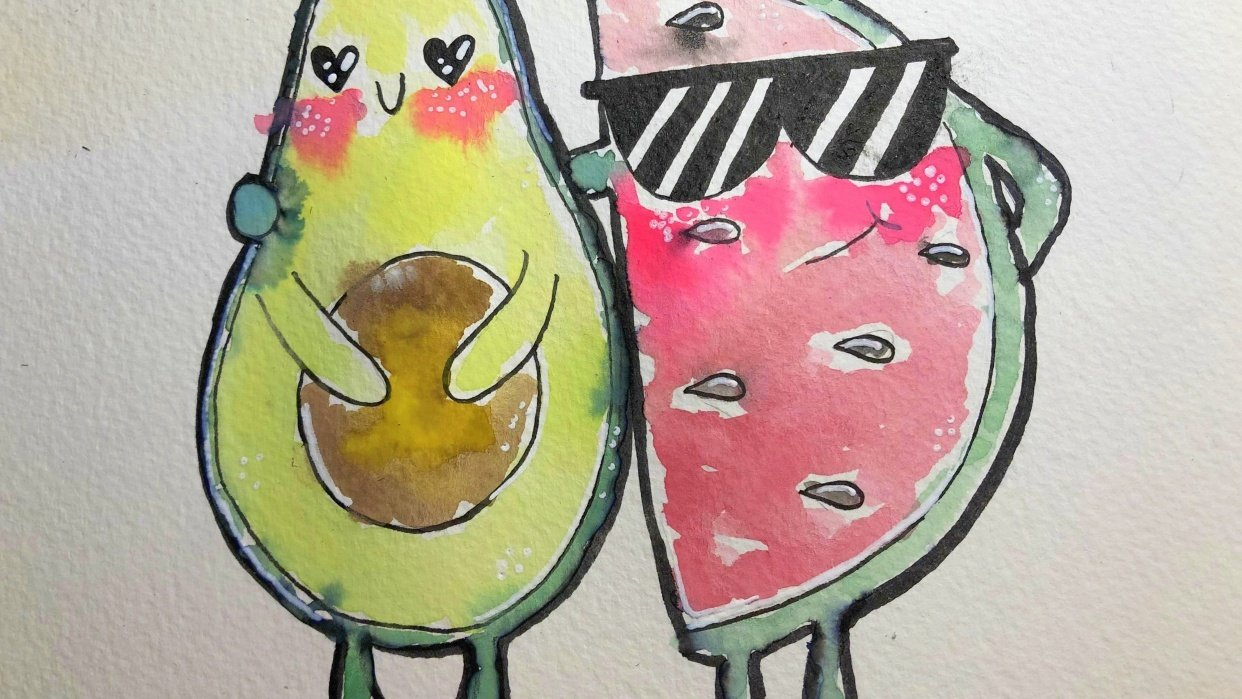 Fruit Couple - student project