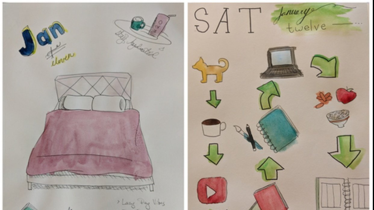 Project 1: Draw My Day - student project