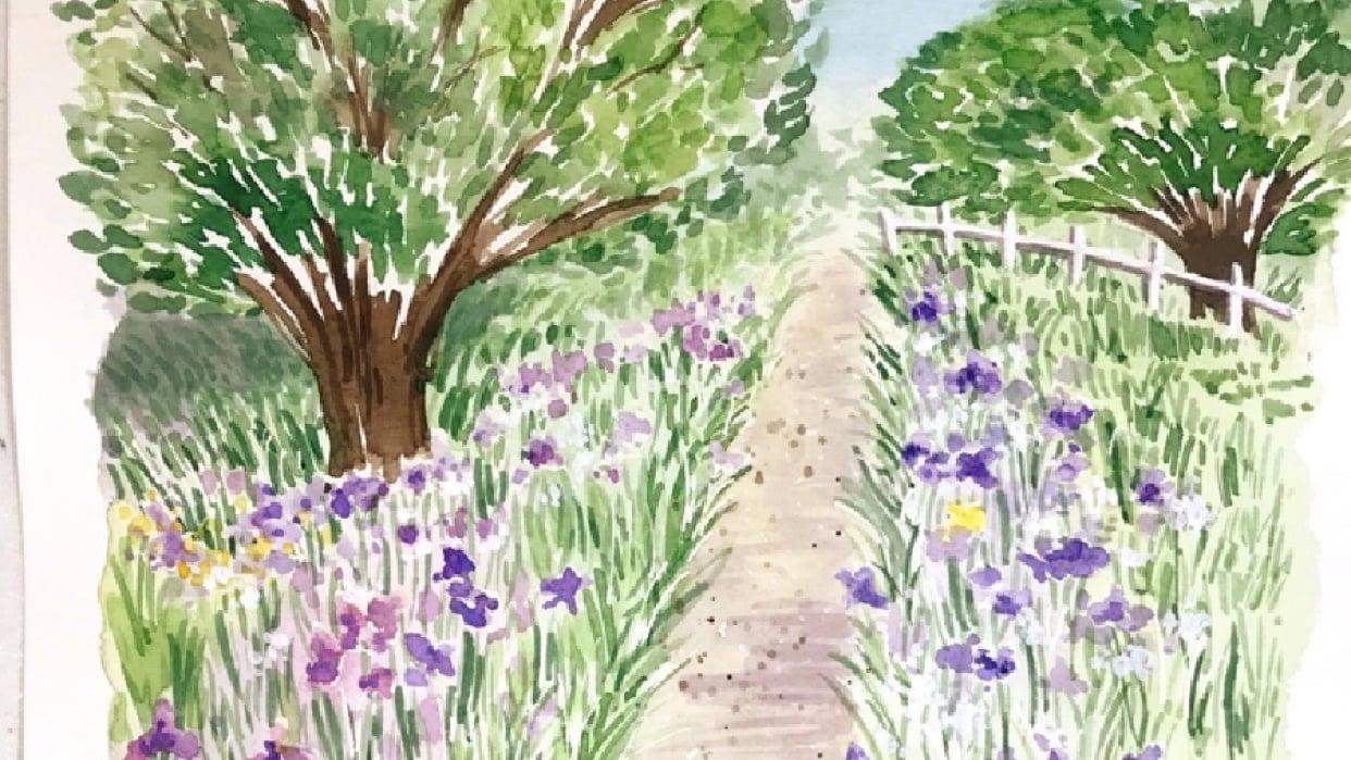 Garden Landscape - student project