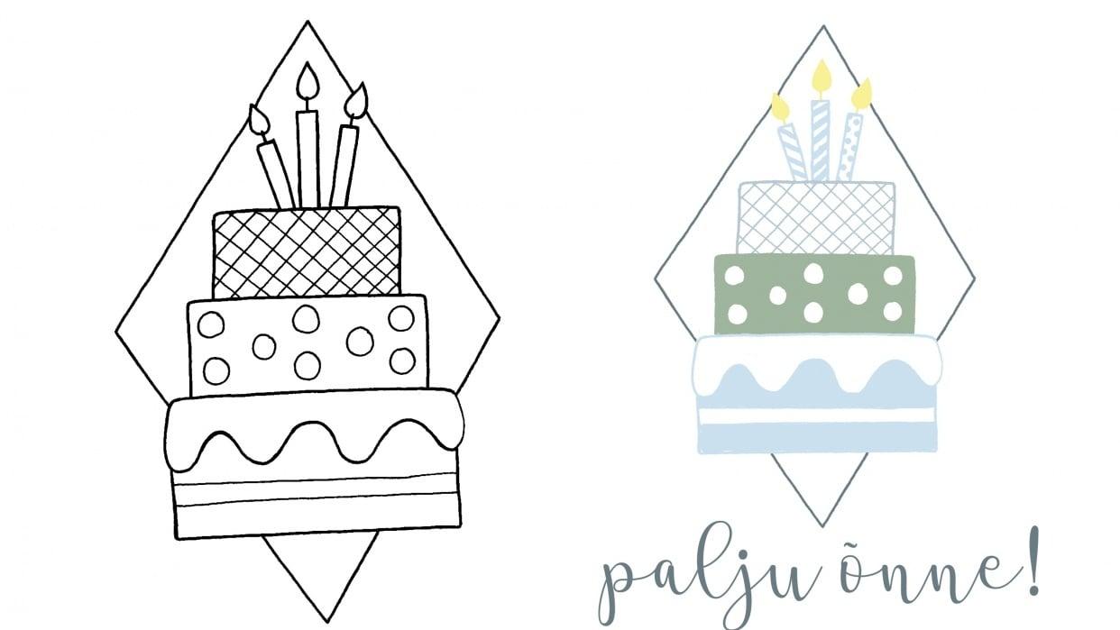 Birthday cake - student project