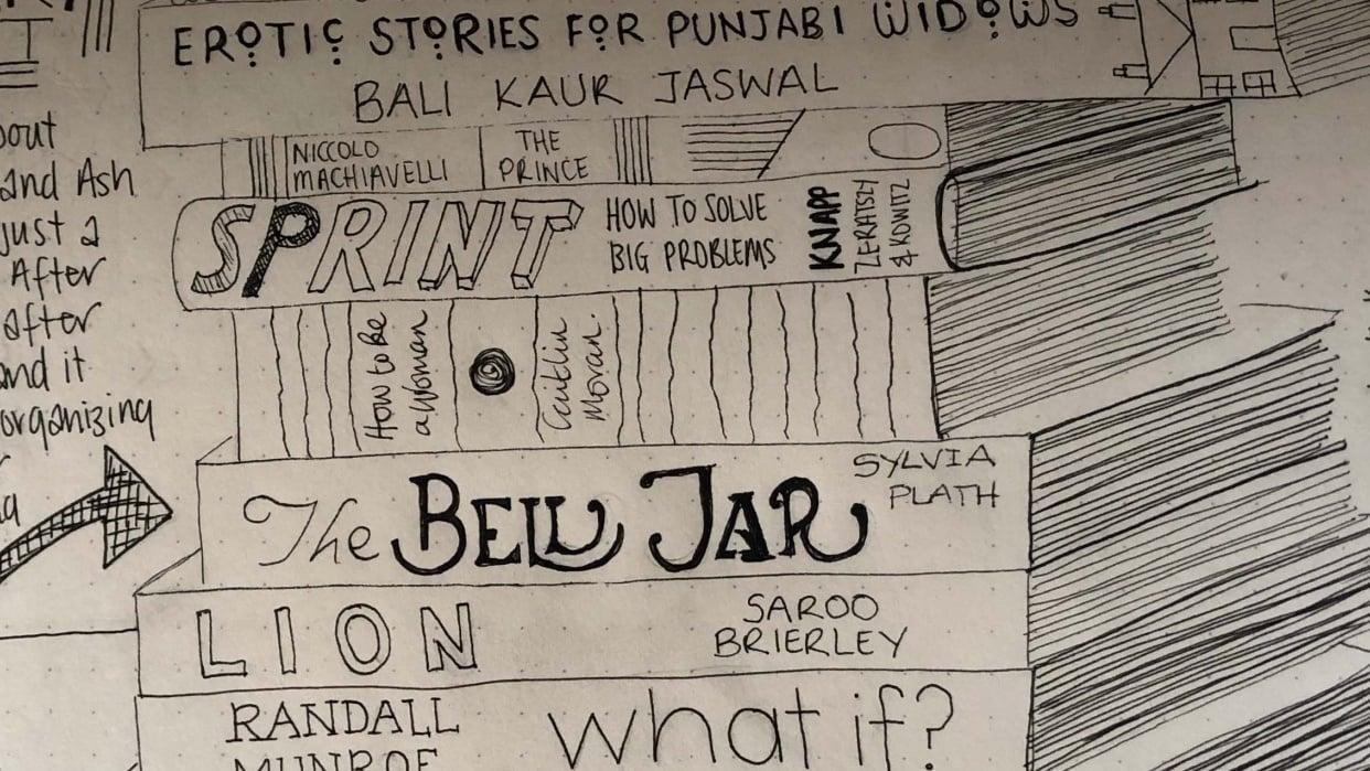 Lauren's Sketch Journal - student project