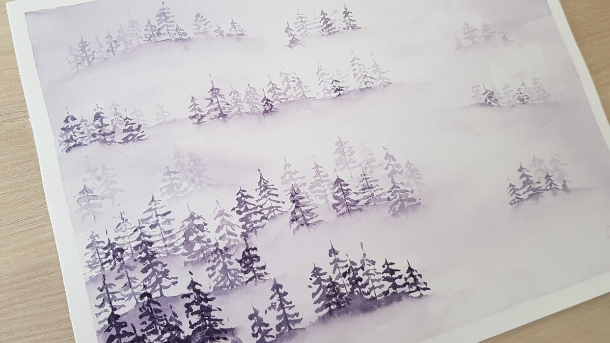 Misty Pines - student project