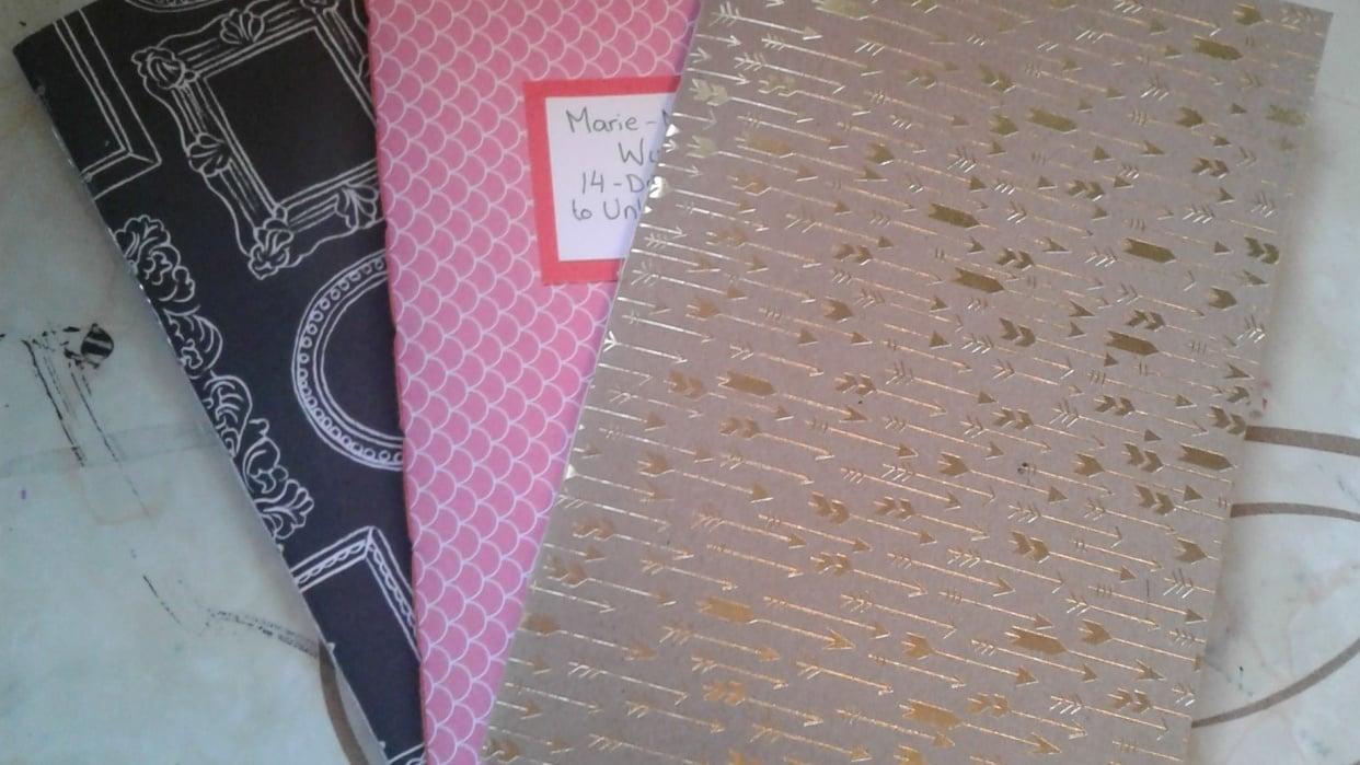 Single Pamphlet Stitch Books - student project