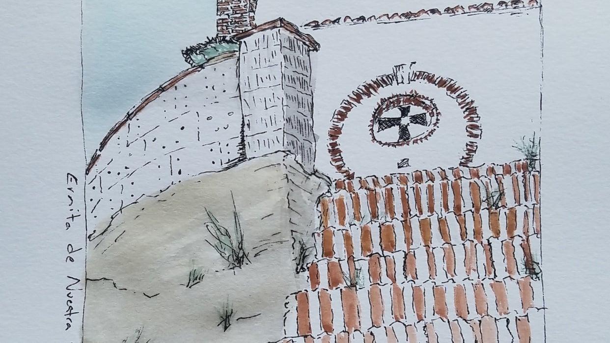 El Chorro, Spain - church - student project