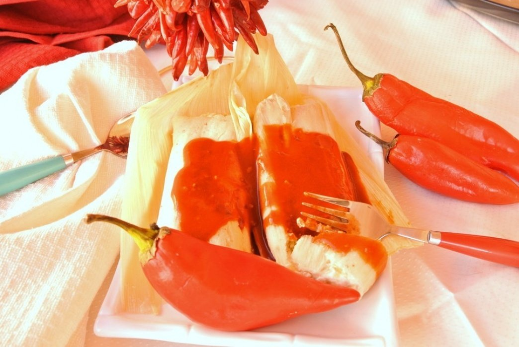 Red Tamales - Southwestern Christmas - student project