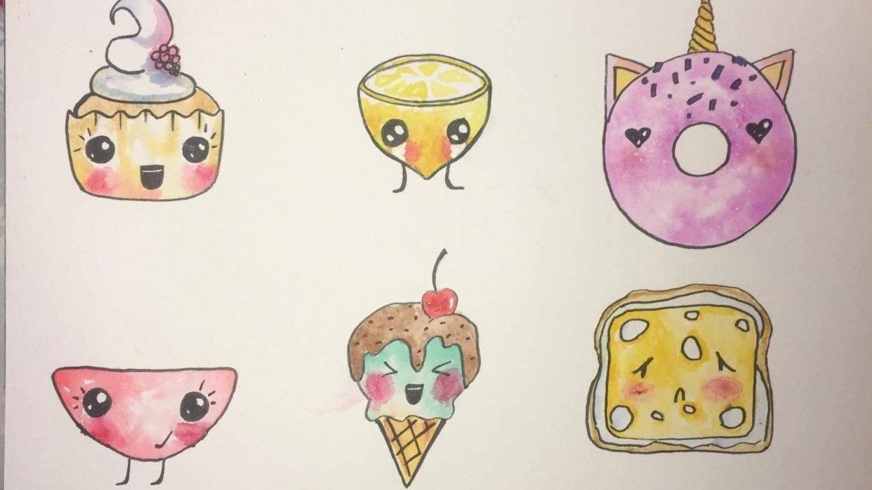 Cutie foodie - student project
