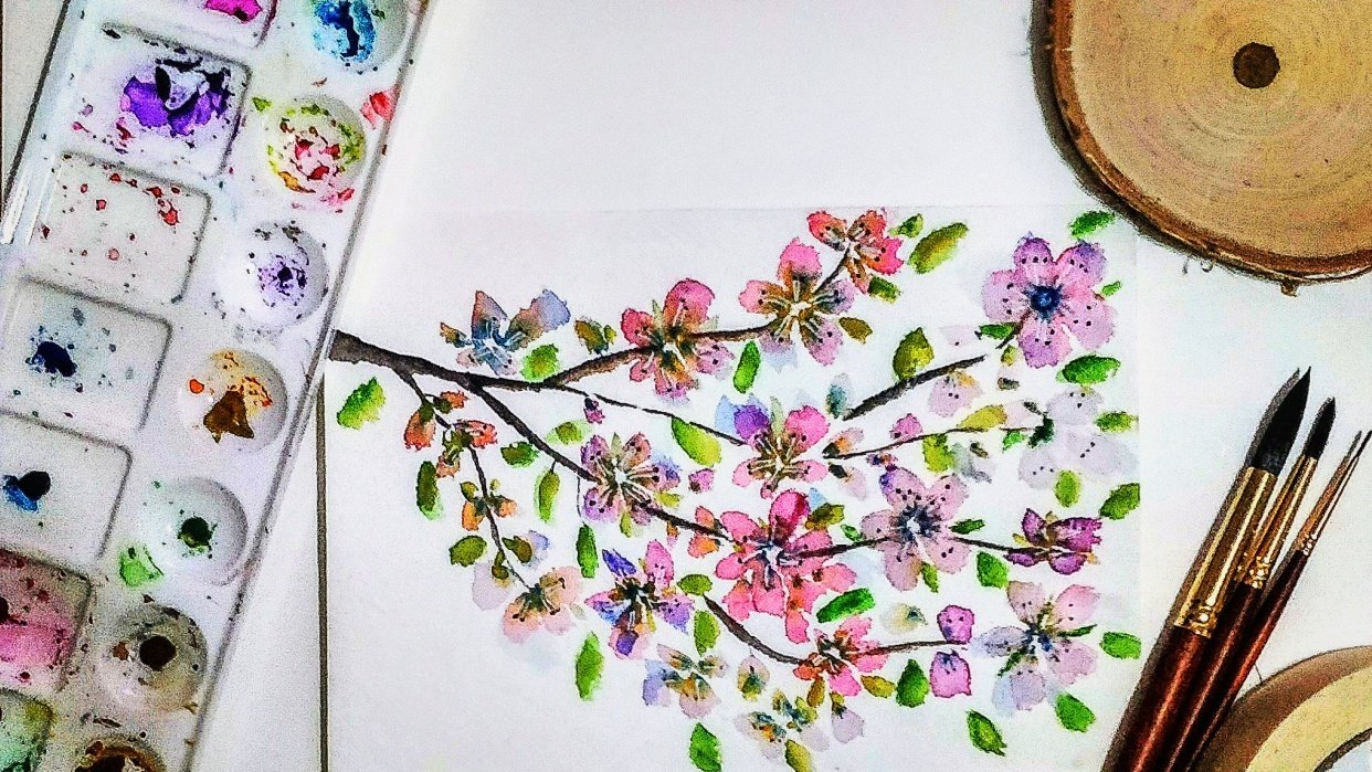 Blossoms - student project
