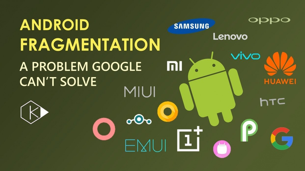 Why Google Can't Solve Android's Fragmentation Problem - student project