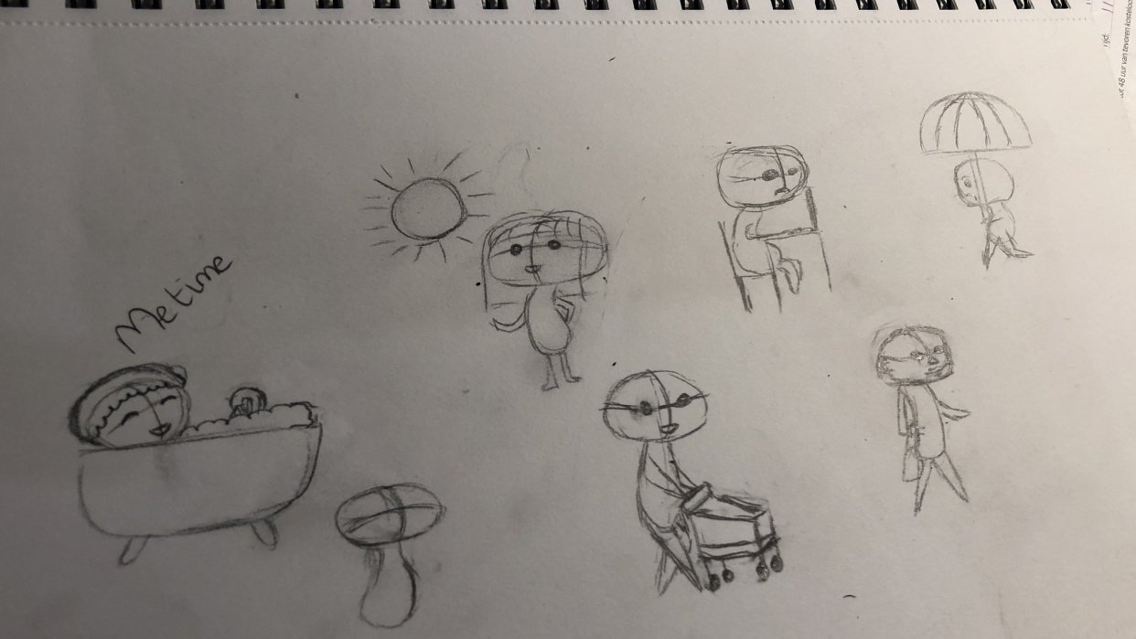 Just doodling with all the new stuff I learned! - student project